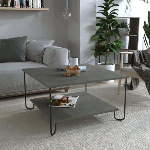 Marbo Coffee Table - Oak Coffee Table