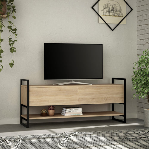 Metola - Anthracite TV Stand