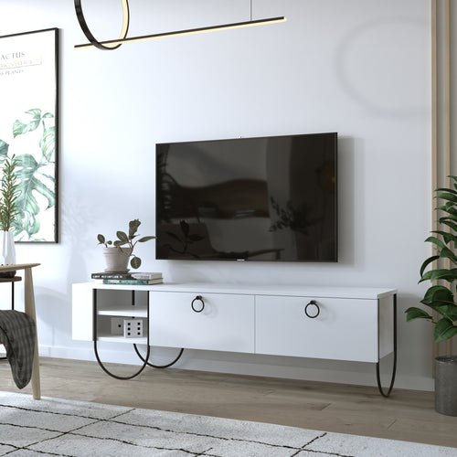 Norfolk Tv Stand - Oak TV Stand