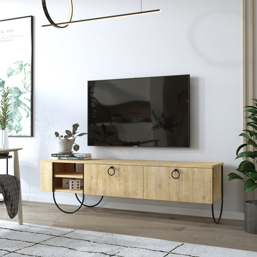 Norfolk Tv Stand - Dark Coffee TV Stand