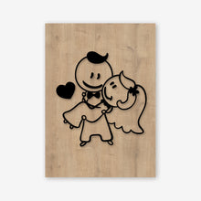 Just Married Wooden Frame