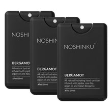 Load image into Gallery viewer, Bergamot Pocket Hand Sanitizer | 3-Pack