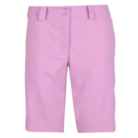 Ladies Nike Mod Rise Shorts Violet - Golf Stitch