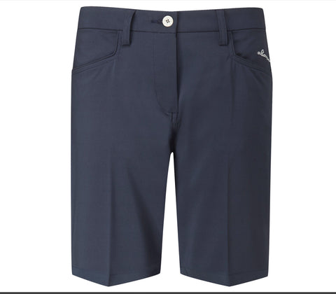 Ladies Abacus Selby Shorts Navy