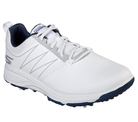 Mens Skechers Torque Golf Shoes White/Navy