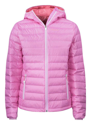 Ladies Tenson Prisma Goose down Puffer Jacket Pink - Golf Stitch