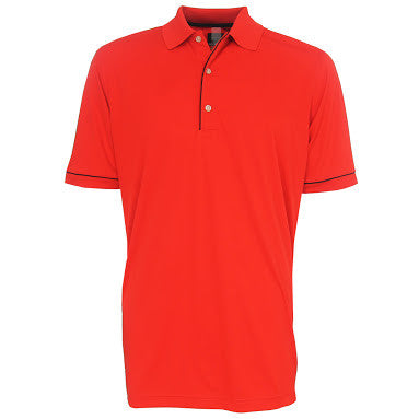 Mens Greg Norman  Micro Lux Polo Buey - Golf Stitch