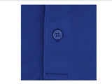 Mens Cutter & Buck Pique Polo Tour Blue - Golf Stitch