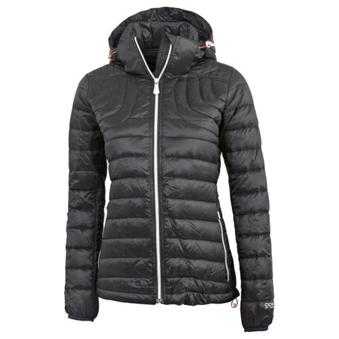 Ladies Tenson Prisma Goose down Puffer Jacket Charcoal