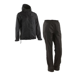 Didrikson Junior Boys Tigress Weatherproof Jacket & Pant Set Grey