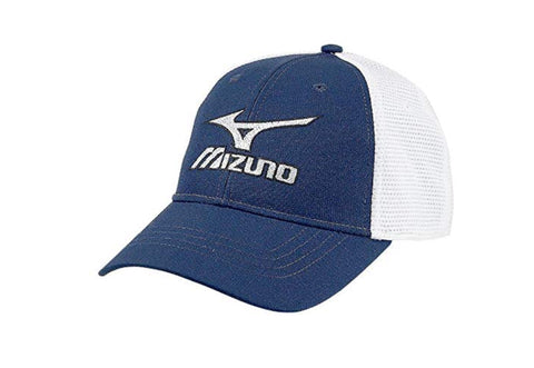 Mens Mizuno Tour Mesh Fitted Cap Navy