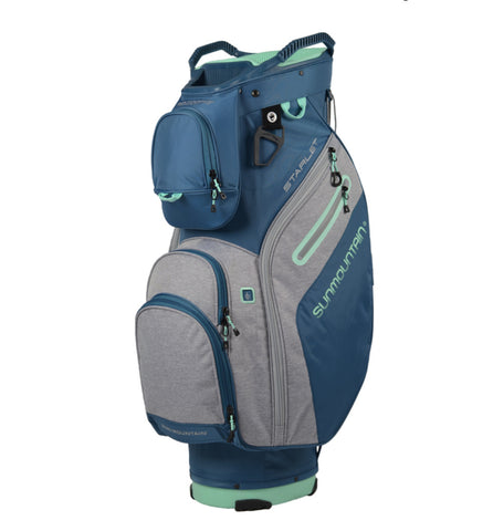 Sun Mountain Ladies Starlet Cart Bag Spruce/Charcoal/Ice