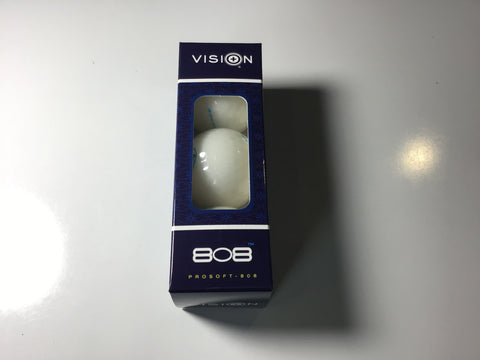 Vision Pro Soft 808 White Crystal 3 Ball Sleeve