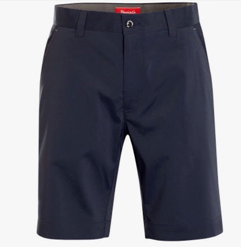 Mens Dwyers & Co Solid Tech Shorts Navy