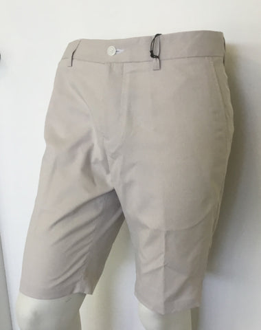 Mens Dwyers & Co Shorts Khaki/White - Golf Stitch