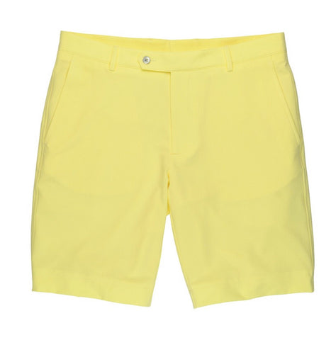 Mens Fairway & Greene Larson Flat Front Tech Shorts Glare - Golf Stitch