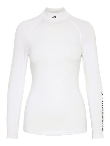 Ladies J.Lindeberg Asa Soft Compression Base Layer White