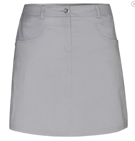 Ladies Birdee Sport Stretch Tech Skort Silver