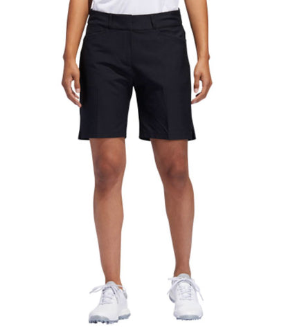 Ladies Cross Crystal Shorts Black