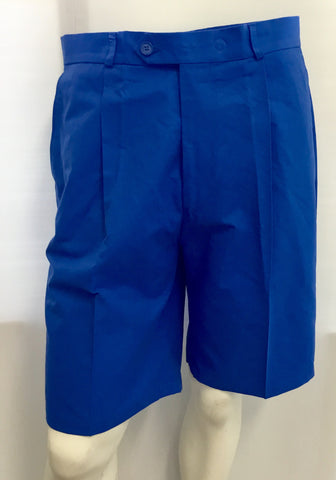 Mens Stromberg Solid Tech Shorts Blue - Golf Stitch