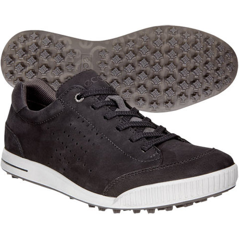 Mens Ecco Street Retro Golf Shoes Black