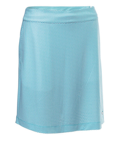 Ladies Abacus Karen Printed Skort Breeze