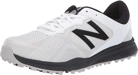 Mens New Balance Breeze Spikeless Golf Shoes White/Black