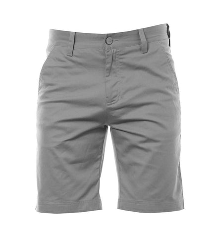 Mens Calvin Klein Cotton Twill Golf Shorts Grey
