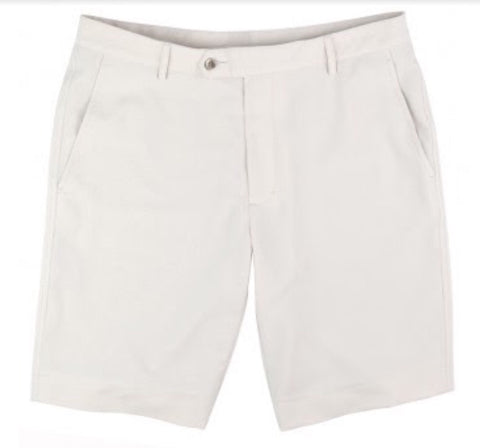 Mens Fairway & Greene Signiture Shorts White - Golf Stitch