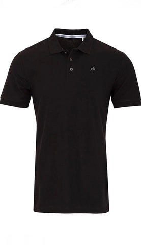 Mens Calvin Klein Liquid Touch Polo Black