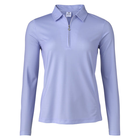 Ladies Daily Sports Macy Longsleeve Polo Violet