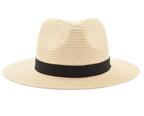 Solar Escape UPF 50+ Fedora Hat Wheat