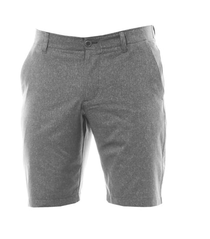 Mens Dwyers & Co Lightweight Cotton Shorts Textured Grey