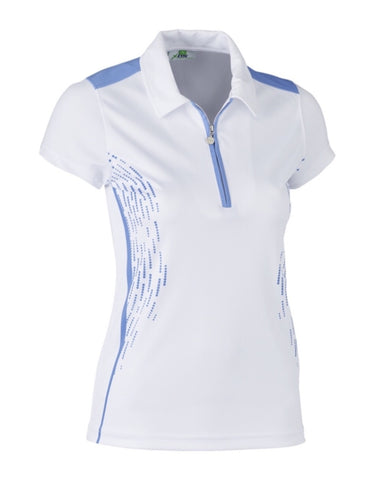 Ladies Daily Sports Memphis Polo Blue Bell