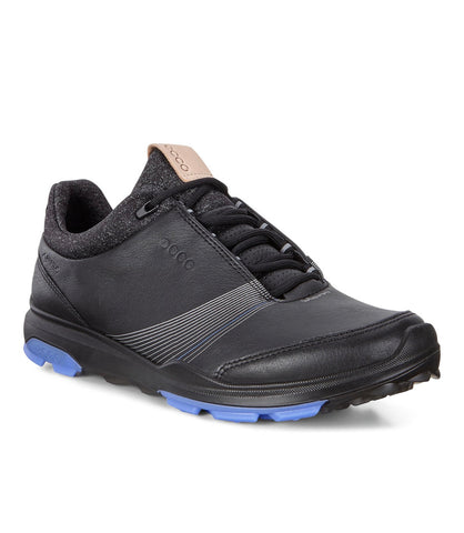 Ladies Ecco Biom Hybrid 3 Golf Shoes Black