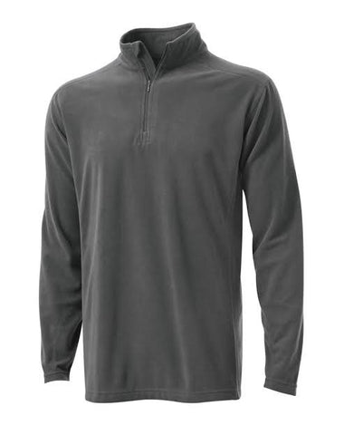 Mens Tenson 1/4 Zip Microfleece Charcoal