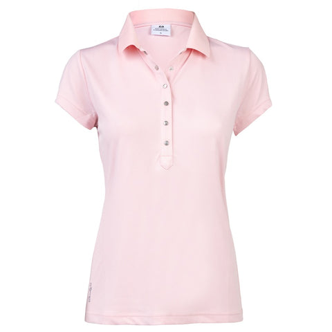 Ladies Daily Sports Mindy Polo Blush