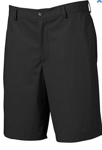 Mens Greg Norman Epic Shorts Black - Golf Stitch