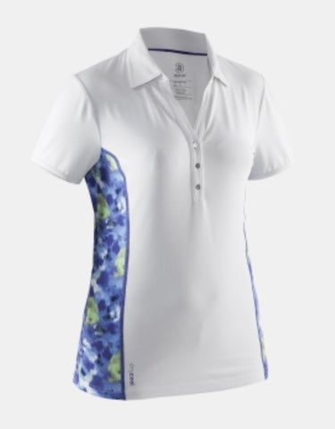 Ladies Abacus Elsa Polo White