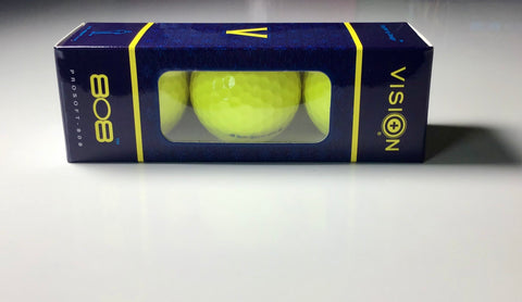 Vision Pro Soft 808 Yellow 3 Ball Sleeve
