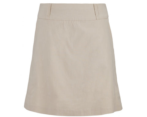 Ladies Bette & Court Stretch Skort Stone