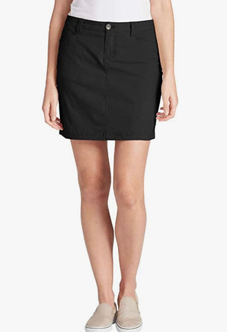 Ladies Eddie Bauer Adventurer Skort Black