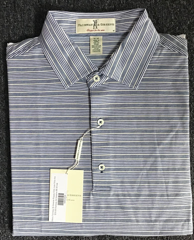 Mens Fairway & Greene Poppy Hills Lisle Polo Ink