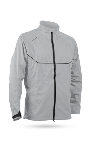 Mens Sun Mountain Tour Series Jacket Platinum