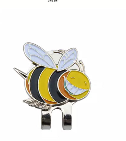 Crystal Ball Marker with Hat Clip Bumble Bee