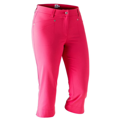 Ladies Daily Sports Lyric Capri Watermelon