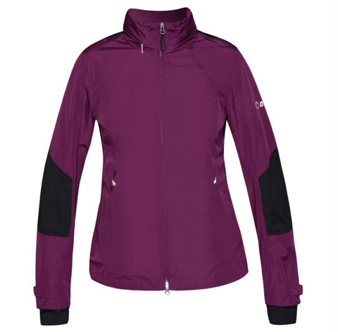 Ladies Nivo Kim Waterproof Jacket Plum