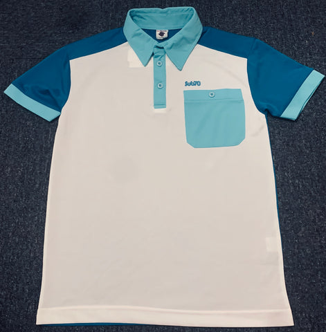 Junior Sub 70 Polo White/Surf