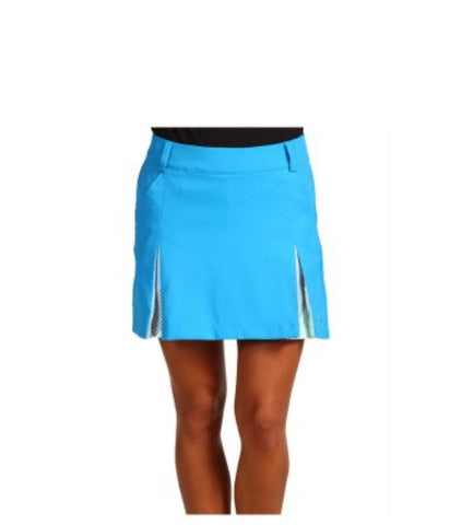 Ladies Cross Mila Pleated Skort Crystal Glass