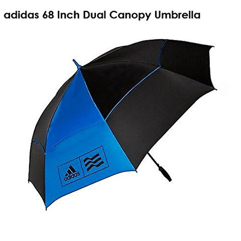 Adidas Twin Canopy Tour Umbrella Blue/Black